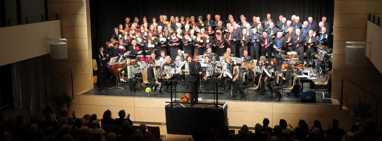 Männerchor Singen Gruppenbild
